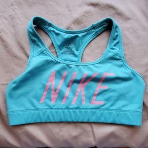 Nike sports bra, size M